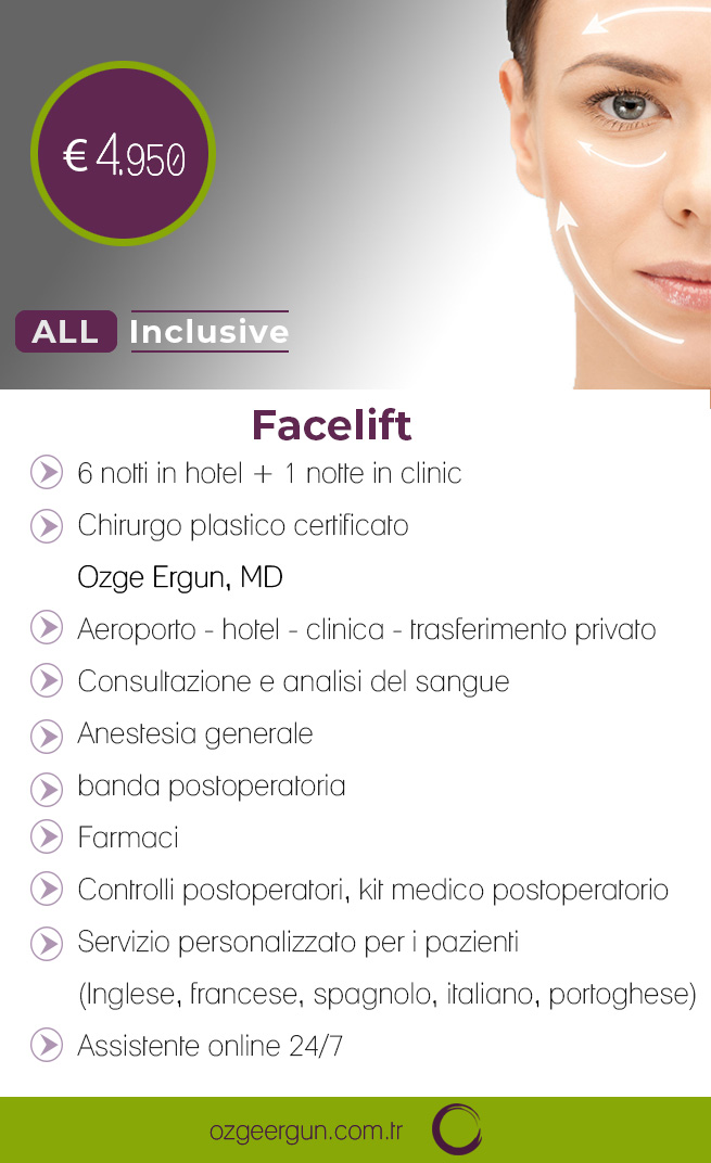 FaceLift Tutto incluso